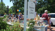June Sidewalk Book Sale