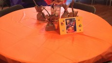 photo halloween orange table