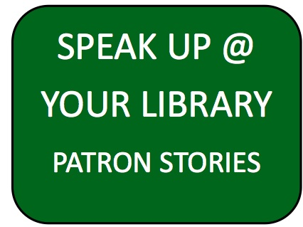 speak up at your library